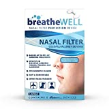 breatheWELL Nasal Filter Protection Device, Large, 6 Count