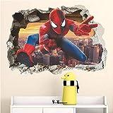 Zoom IMG-2 kibi spiderman 3d adesivo muro