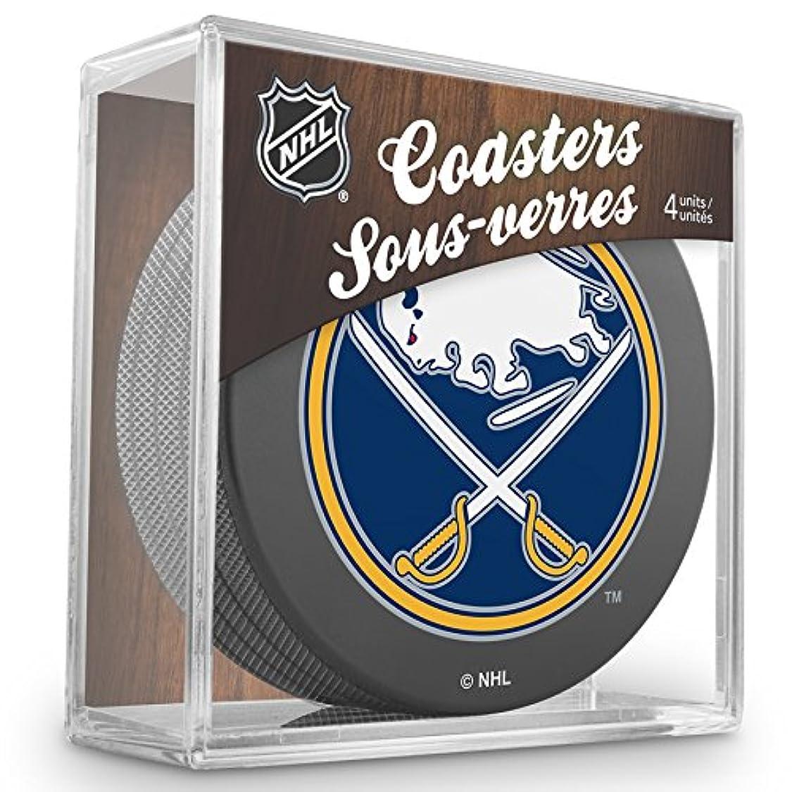 Inglasco NHL Unisex Puck Coasters Pack ps29166059174610