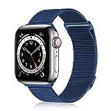 FRESHCLOUD コンパチブル apple watch バンド コンパチブル アップルウォッチバンド 38mm 40mm 42mm 44mm ステンレス留め金製 コンパチブル iwatch series6/5/4/3/2/1/SEに対応 磁石 軽量モデル