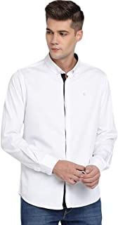 TED HARBOR Solid Satin Black Shirt