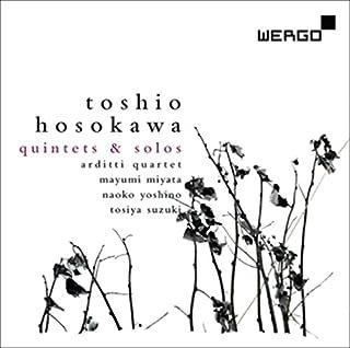 細川俊夫 : 作品集 ~ ランドスケープ V   哀悼歌   他 (Toshio Hosokawa : Quintet & Solos / Arditti Quartet   Mayumi Miyata   Naoko Yoshino   To...
