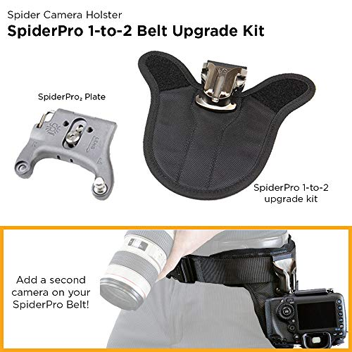 Spider Holster - SpiderPro 1-to-2 Camera Belt Upgrade v2