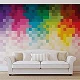 Papier Peint Photo Mural 1482VEXXXL - Collection 3D et Géométrique - XXXL - 416cm x...