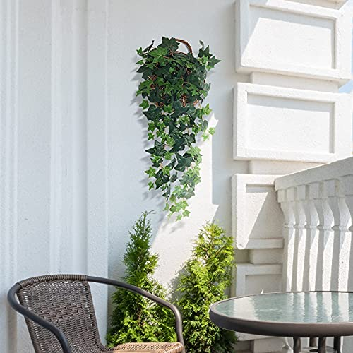 Kisflower-4FT-Artificial-Hanging-Plants-Fake-Ivy-Vine-Greenery-Fake-Trailing-Plant-Green-Dill-Plant-for-Wall-Home-Outside-Decoration-Ivy