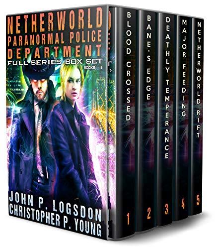 Netherworld Paranormal Police Department Full Series Box Set