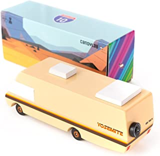 Candylab Toys Wooden Cars, Lone Sheriff , Modern Vintage Style Collectible, Kids Toy Cars, Solid Beech Wood