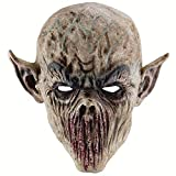 PRETYZOOM Máscara de Terror de Alloween Máscara de Monstruo de Tenedor Máscara de Terror de ORCO Zombie Máscaras de Monstruo de Sangre-Accesorios de Fiesta de Máscara de Monstruo Horrible