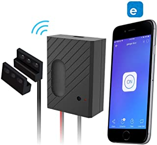 EACHEN WiFi Smart Home Garage Door Opener Wireless Remote Controller with eWelink APP, Compatible with Alexa, Google Home, Nest and IFTTT (Renewed)