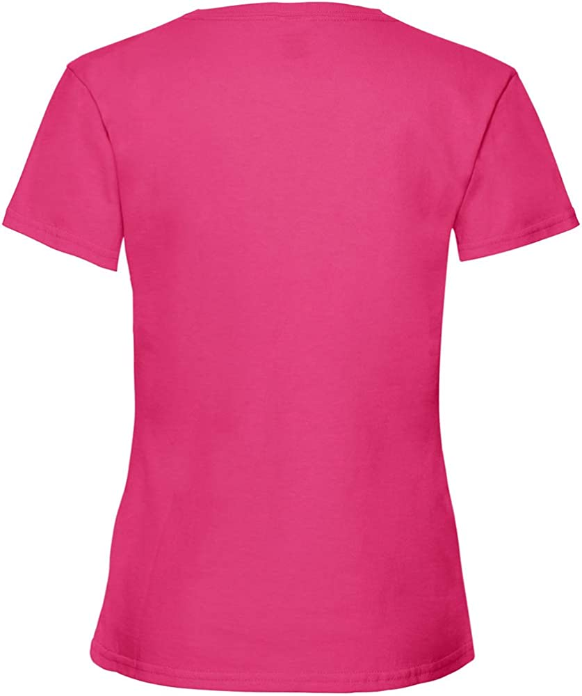 Blue 61-005-0 Children/'s Valueweight T-Shirt for Girls Fruit of The Loom One Size