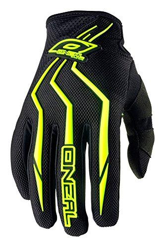 O'Neal Element Kinder Handschuhe MX MTB DH Motocross Enduro Offroad Quad BMX FR, Hi-Viz/Schwarz, Gr. S/3