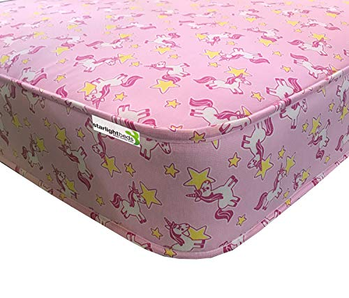 Starlight Beds - 3ft Single Mattress - Childrens Mattress with Unicron Fabric. 3ft x 6ft3 (90cm x 190cm)