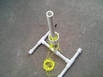 Soda Bottle Water Rocket Launcher Toy Do it Yourself Kit Prefabricated Parts 10 to 15 Minute Assembly.