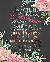 be joyful in all circumstances