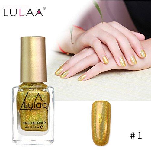 IGEMY LULAA 10ML Farbe Gel Nagellack Nail Art, Gelpoliermittel UV LED Gelpoliermittel (A)