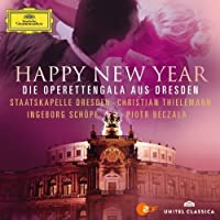 Happy New Year [CD/DVD Combo] by Damrau/Bec ala/Thielemann/Staatskapelle Dresden (2013-03-12)