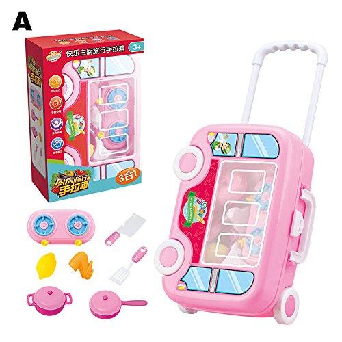 Coomir Kinder Pretend Spielen Spielzeug Krankenhaus Medizin Koffer Gepäck Spielzeug Geschirr...
