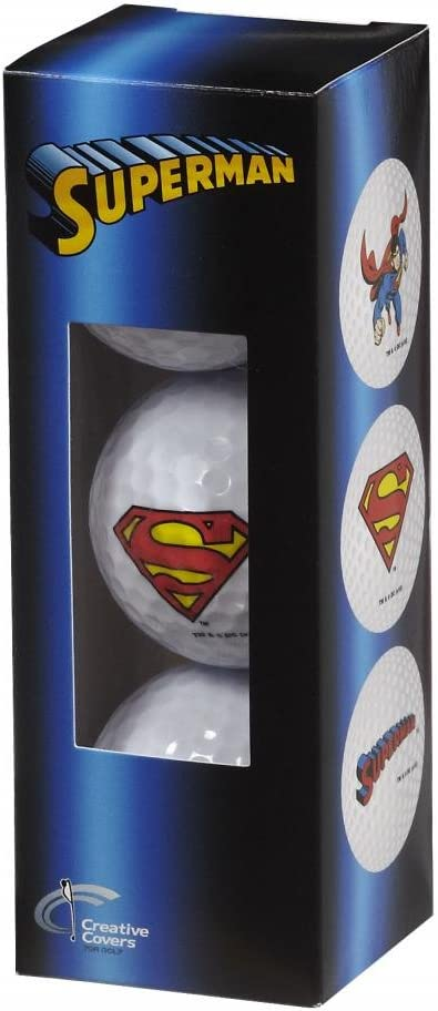 Creative Covers for New color Golf 3Pc Ball Assortment Unisexsuperman Regular discount