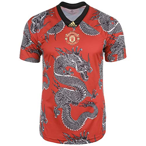 adidas MUFC CNY DR, Camiseta, Red, Talla XS