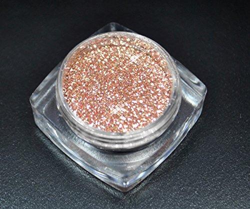 Premium Glitzer Glitter Puder Pink Champagne für Nailart