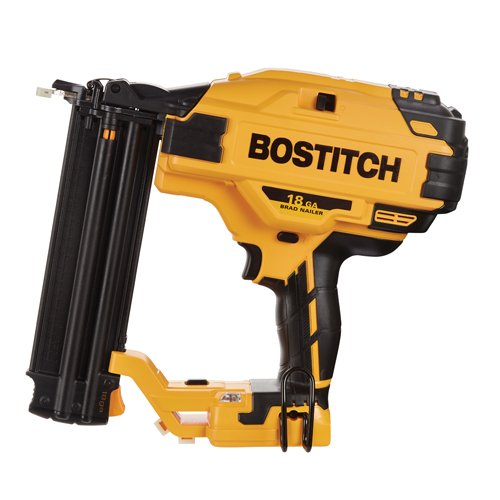 BOSTITCH 20V MAX Cordless Brad Nailer, 18GA, Tool Only (BCN680B)