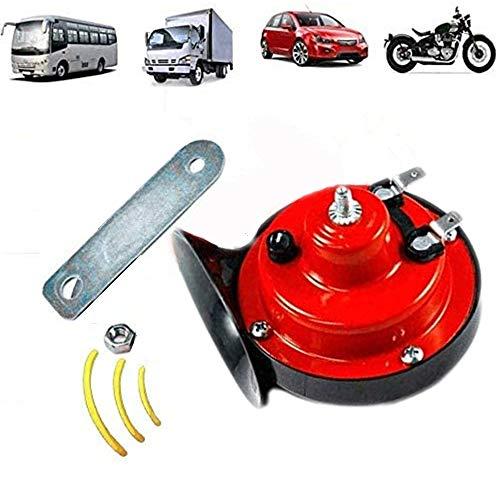x 150 dB Zughupe, 12 V, superlaute Lufthupe, Doppelton, wasserdicht, elektrische Schneckenhupe für Auto, Motorrad, Fahrräder und Boote.