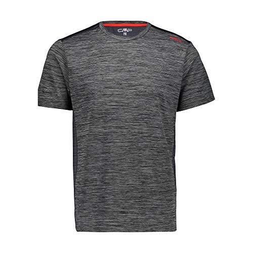 CMP T- Shirt Stretch Con Trattamento Antibatterico Homme, Anthracite, 46