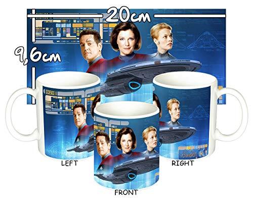 MasTazas Star Trek Voyager USS Voyager Taza Mug