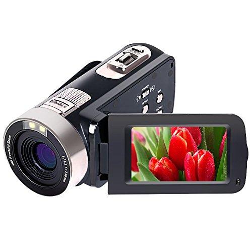 Videocámara 4K Video Cámara Ultra HD 48MP Vlogging Cámara