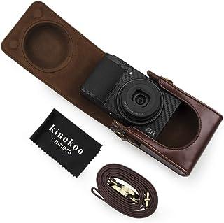 Charcoal Grey Vangoddy Semi Hard EVA Carrying Case for Sony WX350 18 MP Digital Camera and Screen Protector