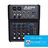 Best Usb Mixers - Alesis MultiMix 4 USB FX | 4 Channel Review
