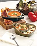 Stoneware Chip, Dip, Soup & Side Bowls for Parties with Rustic, Southwestern Style