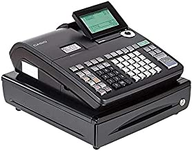 Casio Electronic Cash Registers, Single Tape Thermal Unit with 10-Line LCD Operator/2-Line Customer Displays (SE-S800)