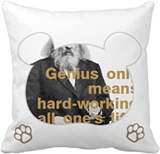 OFFbb-USA Mendeleev Chemical Element Russia Bear - Funda cuadrada para almohada