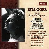 Rita Gorr interprète des airs d'opéras français