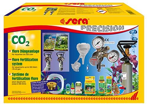 sera 08060 flore CO2 Düngeanlage, CO2 Anlage, Pflanzendüngeanlage, für Aquarien bis 300 Liter, Made in Germany