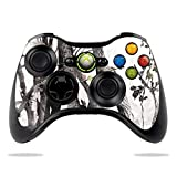 MightySkins Glossy Glitter Skin for Microsoft Xbox 360 Controller - Artic Camo | Protective, Durable High-Gloss Glitter Finish | Easy to Apply, Remove, and Change Styles | Made in The USA