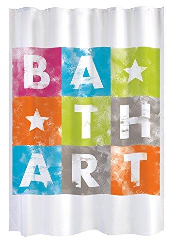 Gelco Design Bath Art 707966 Duschvorhang, 180 x 200 cm, Mehrfarbig