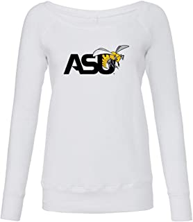 NCAA Alabama State Hornets PPALU01 Women's Fleece Crew Sweatshirt