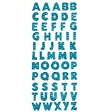 None/Brand 1 Sheet Glitter Alphabet Letter Stickers Self Adhesive ABC A-Z Words Stick On Scrapbooking & Stamping Stickers Advertising Paper Plastic Glass Wood Combine Words