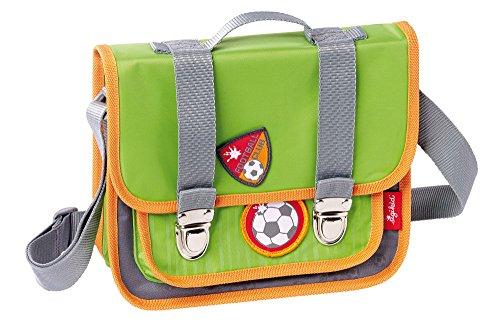 sigikid, Jungen, Kindergartentasche Fußballer, Kily Keeper, Grün/Grau, 24007
