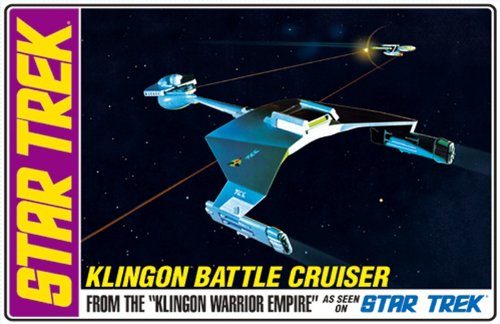AMT Star Trek Klingon Battle Cruiser Standard Edition Spacecraft Model Kit