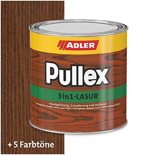 Pullex - Vernice per legno 3 in 1, 750 ml, colore: palissandro