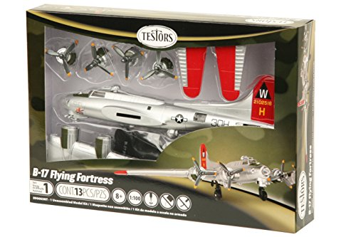 Testors Prepainted Plastic Aircraft Model Kit, Silver