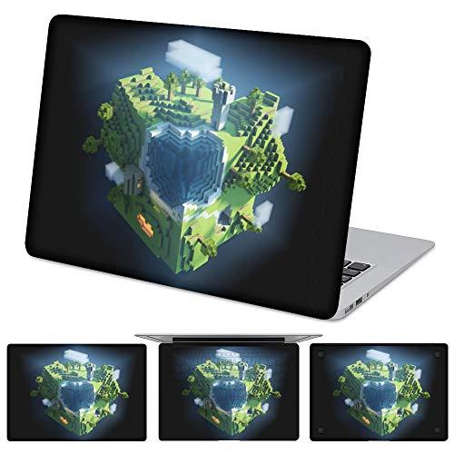 M-inecraft - Película protectora para ordenador portátil, resistente al agua y antiincrustación, apta para Apple MacBook Air 13 modelo A1466 / A1369