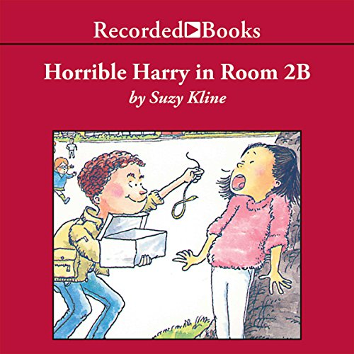Horrible Harry in Room 2B audiobook cover art