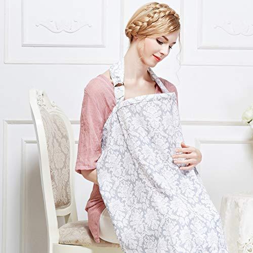 Buy Bargain Breastfeeding Nursing Cover,Breathable Cotton Privacy Feeding Cover, Feeding Apron,Adjus...