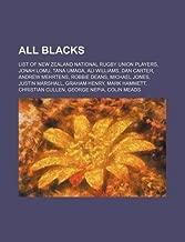All Blacks: List of New Zealand national rugby union players, Jonah Lomu, Tana Umaga, Ali Williams, Dan Carter, Andrew Mehrtens, Robbie Deans (2010-11-30)