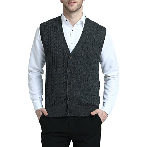Men Irish Wool Sweater Vest