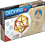 Geomag Edición Especial 783 - Geometría Magnética Leonardo - Construcciones Magnéticas - Máquinas de Leonardo Da Vinci para Niños - Caja de 67 Piezas
